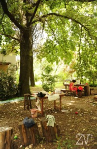 Our Space under the big tree*