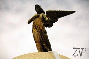Angel watching over the dead..*