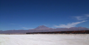 The border between Chile & Bolivia*