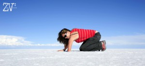 Digging for perfectly formed salt crystals*