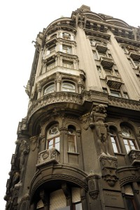 Beautiful old buildings line the streets of Buenos Aires*