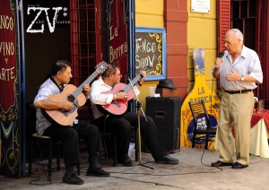 Street performers of every kind can be found in this part of La Boca*