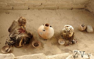 Perfectly preserved Nazca Mummies*